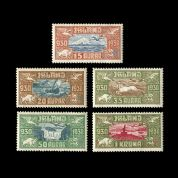 TUT1169 - Iceland AIR. Parliamentary Millenary Celebration set. CLICK FOR FULL DESCRIPTION